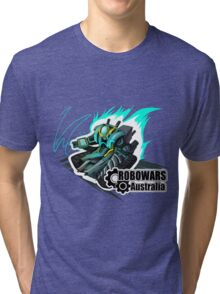 OFFICIAL ROBOWARS AUSTRALIA 2016 DESIGN Tri-blend T-Shirt