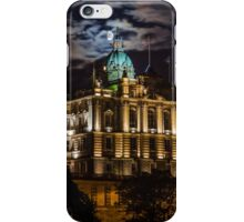 The moon at the Mound. iPhone Case/Skin