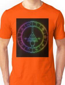 gravity falls Bill cipher wheel coloured Unisex T-Shirt