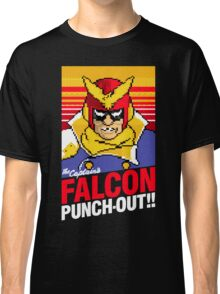Falcon Punch Out - Captain Falcon Classic T-Shirt