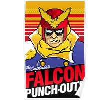 Falcon Punch Out - Captain Falcon Poster
