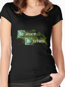 Science Bitches Women's Fitted Scoop T-Shirt