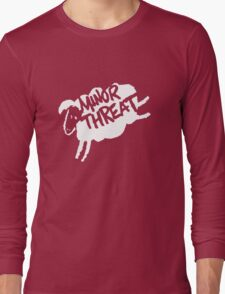Minor Threat Long Sleeve T-Shirt