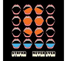 STRFKR never ever Photographic Print