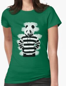 Cool Panda Womens Fitted T-Shirt