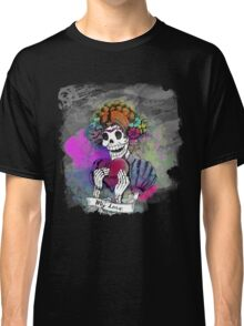 Day of the dead sugar skull Love Classic T-Shirt