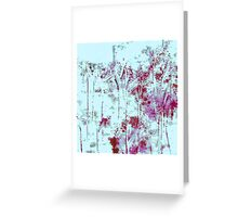 Into the Snowy Woods Greeting Card