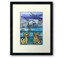 Rosie Kittens Framed Print