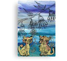 Rosie Kittens Canvas Print