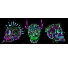 skulls of hate V Photographic Print