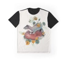 Stoat & Fox (and mouse) Graphic T-Shirt