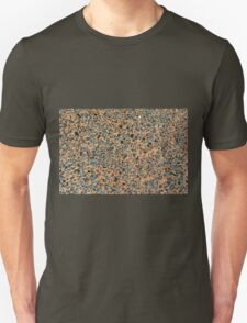 Floor texture with marble colors. Unisex T-Shirt