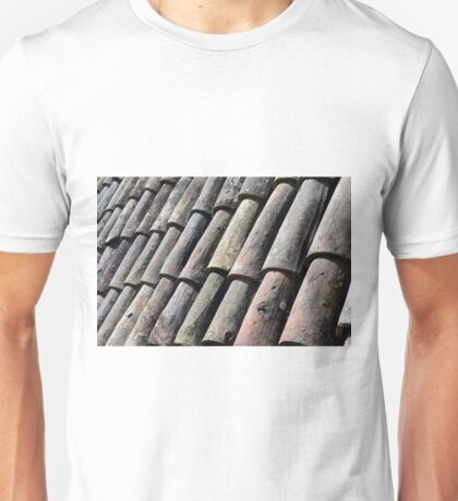 Texture with roof detail. Unisex T-Shirt