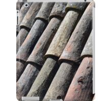 Texture with roof detail. iPad Case/Skin