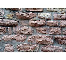 Brick grungy texture Photographic Print
