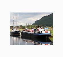 Eagle Inn pub barge, Scotland Unisex T-Shirt