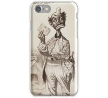Performing Arts Posters Richards Pringles Famous Georgia Minstrels 0236 iPhone Case/Skin