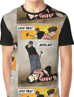 Public Service Announcement Graphic T-Shirt