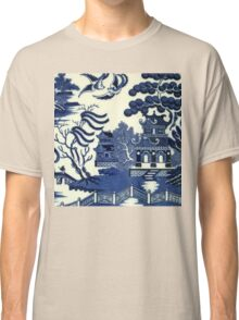 Antique willow ware Classic T-Shirt