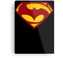 Batman Vs Superman : Dawn of Justice(Superman Color) Metal Print