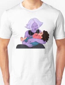 Amethyst and Steven (Semi Realism) Unisex T-Shirt
