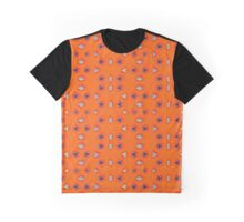 Orange Panes Graphic T-Shirt