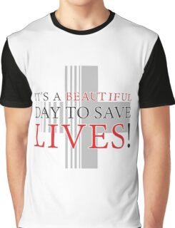 Derek Gray's Anatomy Beautiful Day Graphic T-Shirt