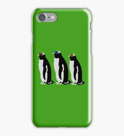 3 Penguins iPhone Case/Skin