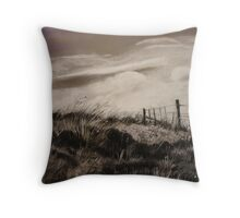 The Corner Paddock  Throw Pillow