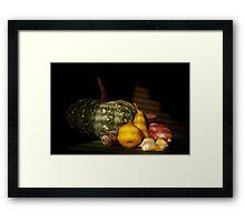 Autumn Fare Framed Print
