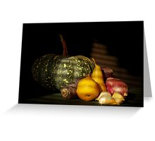 Autumn Fare Greeting Card