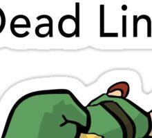 Error 404 Zelda Dead Link Sticker
