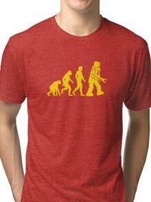 Robot Evolution Tri-blend T-Shirt
