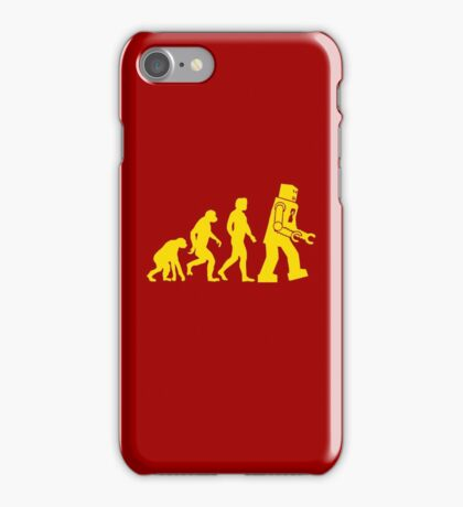 Robot Evolution iPhone Case/Skin