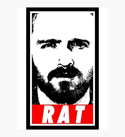 Pinkman - RAT Photographic Print