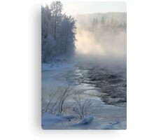 -16c and open water Canvas Print
