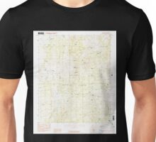USGS TOPO Map Arizona AZ Camp Wood 310701 1986 24000 Unisex T-Shirt