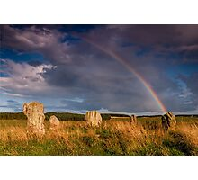 Duddo Stone Circle Photographic Print