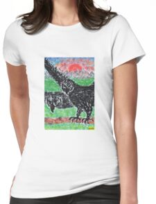 1309 - Birds in Nature Womens Fitted T-Shirt