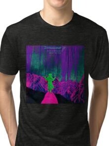 dinosaur jr give a glimpse of what yer not album cover heru Tri-blend T-Shirt