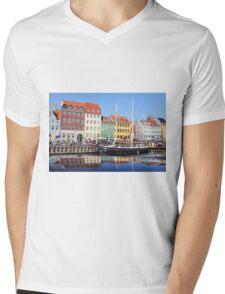 Nyhavn - Copenhagen, Denmark Mens V-Neck T-Shirt