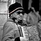 Street musician by lumiwa