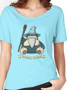You Shall Not Pass (While I Sleep) Women's Relaxed Fit T-Shirt