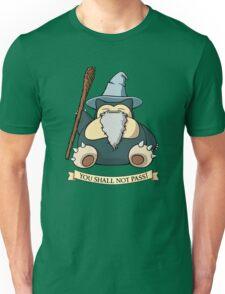 You Shall Not Pass (While I Sleep) Unisex T-Shirt