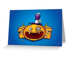 Sprightly Jack Greeting Card