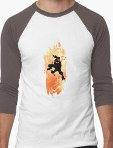 TEENAGE MUTANT NINJA TURTLE MICHELANGELO Men's Baseball ¾ T-Shirt