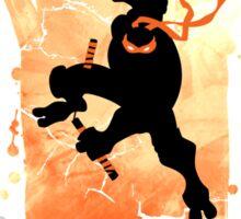 TEENAGE MUTANT NINJA TURTLE MICHELANGELO Sticker