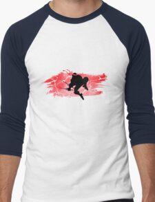 TEENAGE MUTANT NINJA TURTLE RAPHAEL Men's Baseball ¾ T-Shirt
