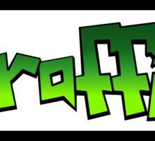 Graffiti (green) Sticker