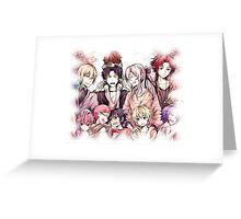 hi to the family seraph of the end Greeting Card